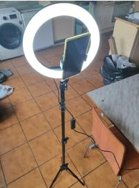 "YO-GOGO 10"" Professional LED Ring Light Kit"