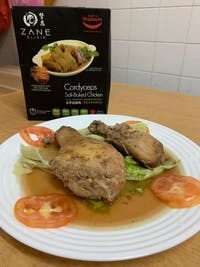 ZANE Cordyceps Salt-Baked Chicken 450G | 2 pax