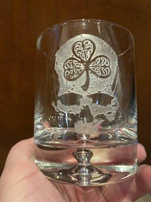 Shamrock Glass
