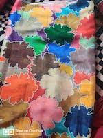 Viscose Muslin Digital Multi-Color Printed Fabric